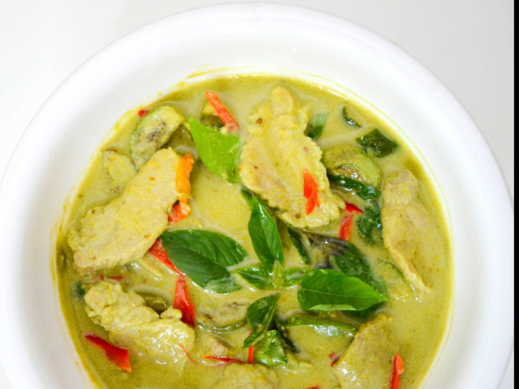 Image of Thai Style Green Curry Pork prepared by home chef