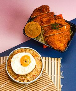 Dip Dip chicken chop katsu