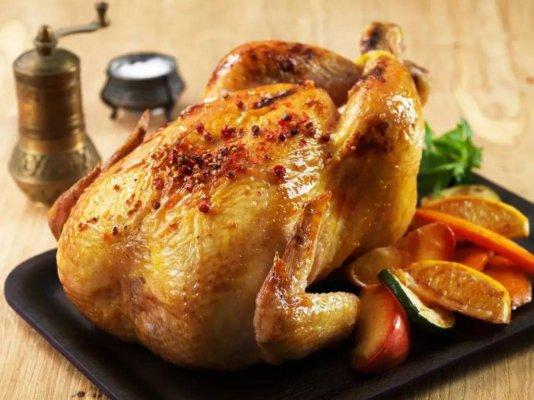 华人新年吃鸡代表展翅高飞