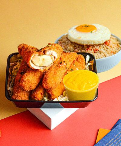 Dip Dip menu - cheesy sticks