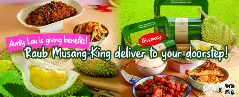 Free Musang King durian!